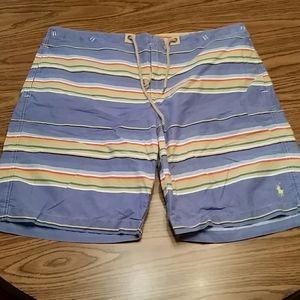 Polo beach shorts,38x10, multi color
